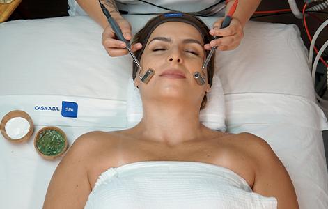 Facial Biolifting con ultrasonido y electroestimulos