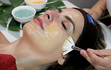 Facial royal jelly